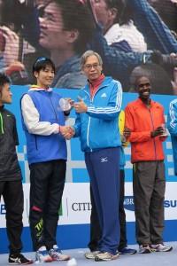 「台北マラソン、ホノルルマラソンで日本人1位の高橋 幸二さんへインタビュー」の画像