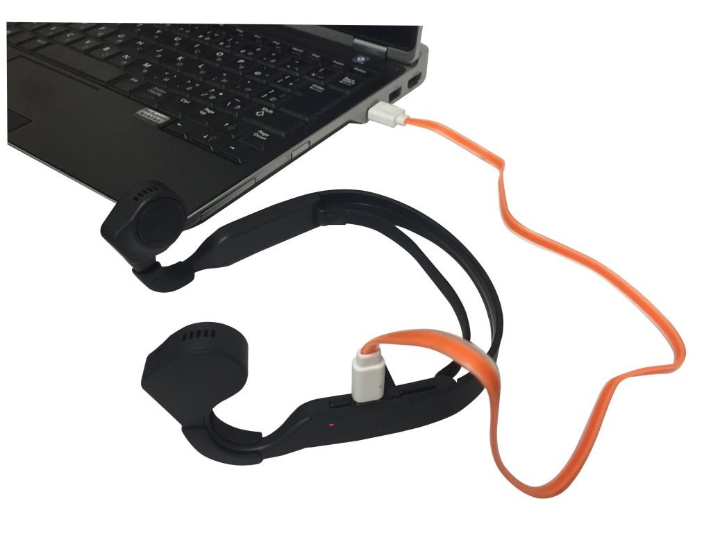 「ランに最適!耳を塞がずに音楽が聴ける「ROOMMATE 骨伝導ヘッドフォン」発売」の画像