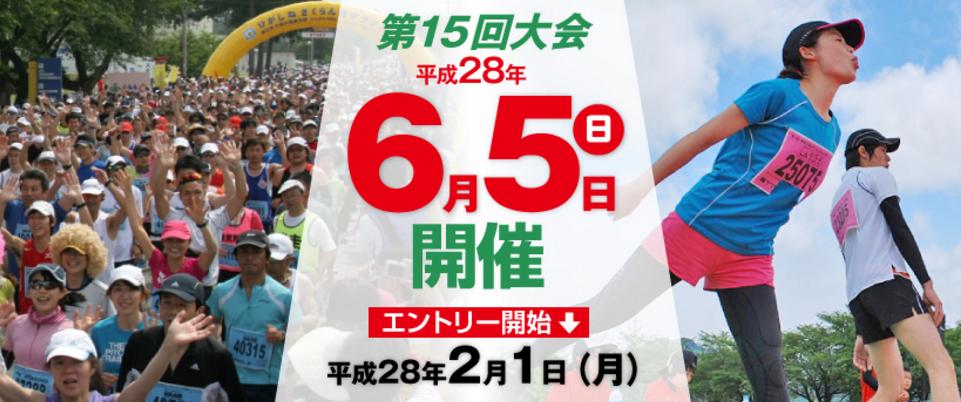 「第15回 果樹王国ひがしねさくらんぼマラソン」の画像