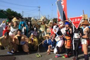 「仮装ランナー大集合」の画像