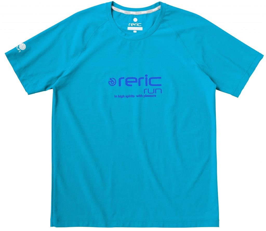 「「reric run」から新素材を採用した春夏Tシャツを発売」の画像