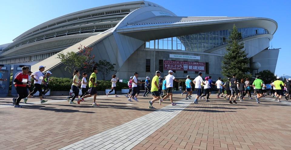 「激走スタジアム2016!初夏のRUN!乱!リレーマラソン★ノエビア・スタジアム神戸」の画像