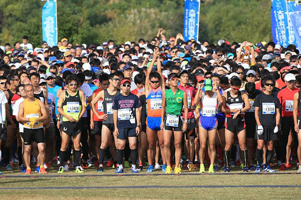 「第20回 大阪・淀川市民マラソン」の画像