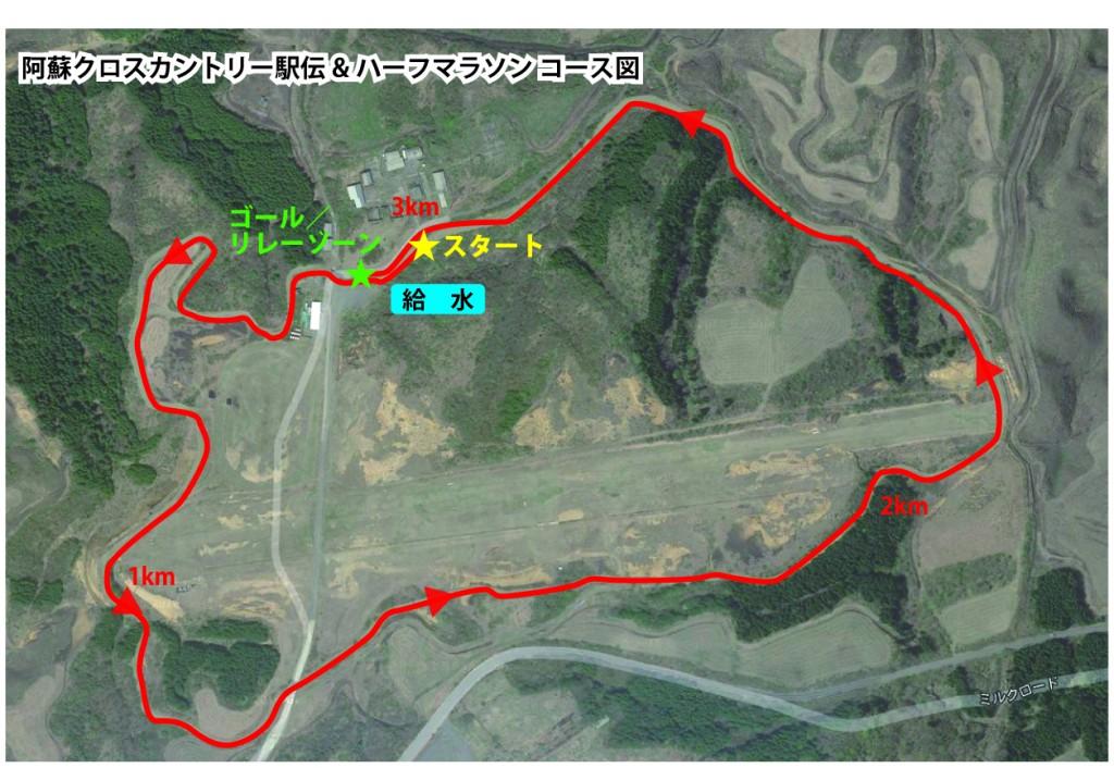 「地元の箱根ランナーも参加!熊本復興支援・阿蘇クロスカントリー駅伝&ハーフマラソン」の画像