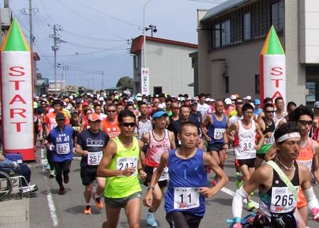 「~太宰治の歩いた道を走る~ 龍飛・義経マラソン2016」の画像