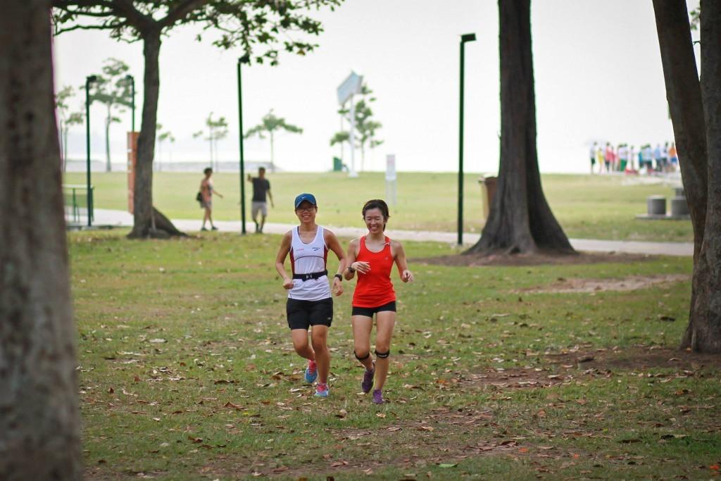 「東京マラソンに5年連続でシンガポールから参加の女性ランナー、ペイリンさんの世界一周物語」の画像