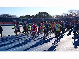 「タスキを繋いでX'masランを仲間と楽しもう! 2016 クリスマスイベント in 駒沢・駒沢6時間耐久レース」の画像