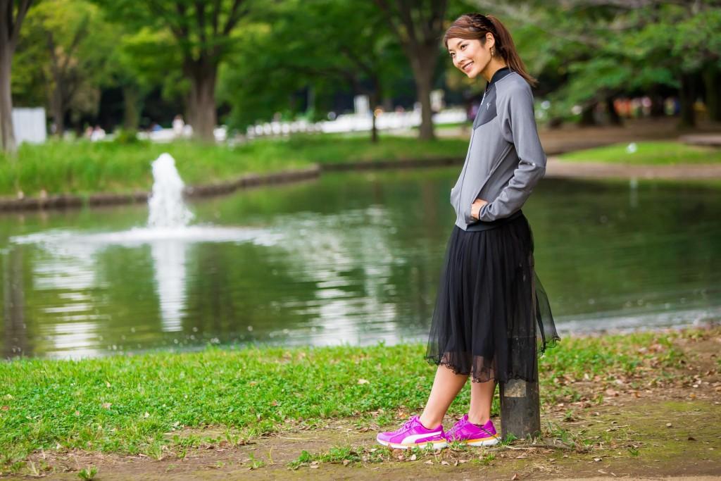 「女性芸能界最速ランナー西谷綾子。その澄んだ瞳の先に見るもの。」の画像