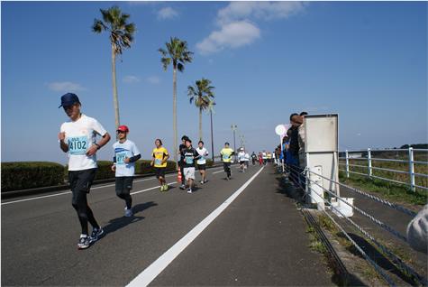 「宮崎の絶景と、温かい応援に囲まれて走る大会 第30回 青島太平洋マラソン2016」の画像