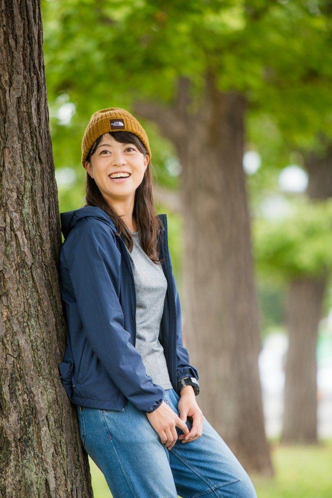「「トレランは楽しい旅だから、ゴールは笑っていたい」、UTMF優勝候補の宮﨑喜美乃さん」の画像