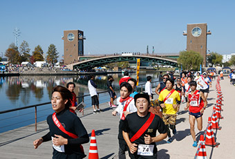 「チームで力を合わせて完走を目指せ! 第16回富山あいの風リレーマラソン」の画像