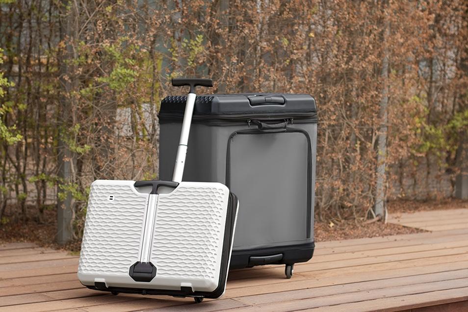 「驚きの多機能性を持つスーツケース「FUGU Luggage」が発売開始!」の画像
