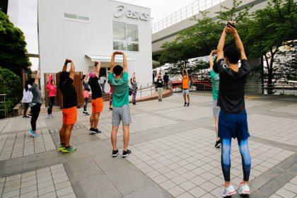 """「ワークアウトを通じて""""ヒト""""と""""マチ""""が繋がる、東東京エリアにアシックス新施設」の画像"""