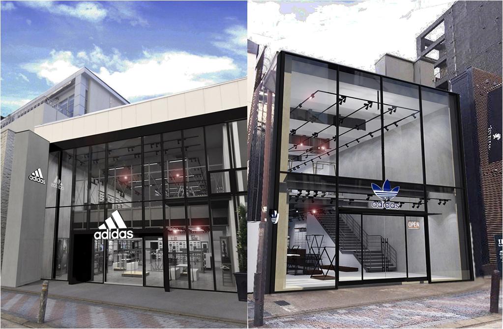 「7月1日、福岡の天神エリアにアディダスショップが2店同時オープンへ!」の画像