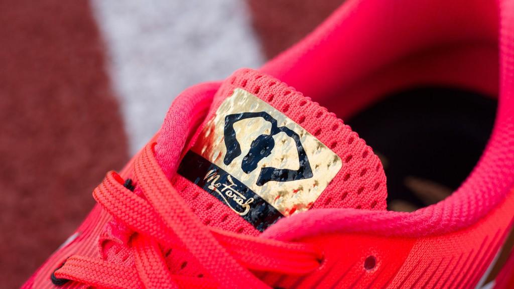 「世界選手権10000mで3連覇!モー・ファラー選手の愛用モデルをNIKEがカスタマイズ」の画像