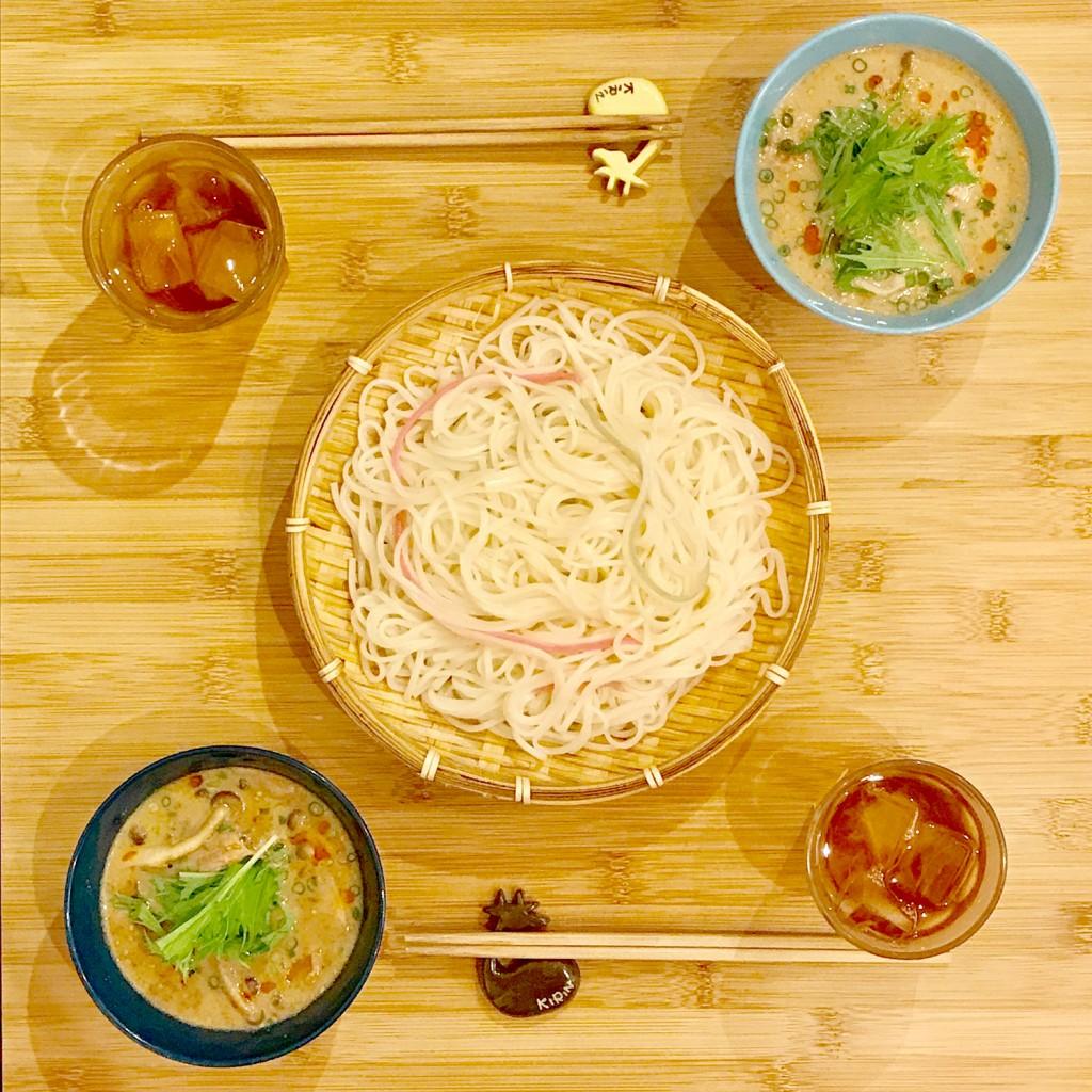 「管理栄養士が考えるランナーメシ! アレンジ冷麦で代謝アップ!【冷麦の坦々つけ麺】」の画像