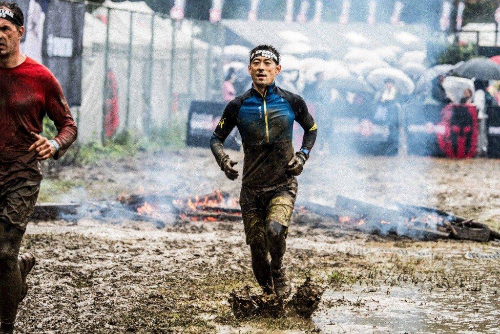 「綺麗なウエアでのゴールは無理!! 台風が近づく中で開催された「スパルタンレース」」の画像