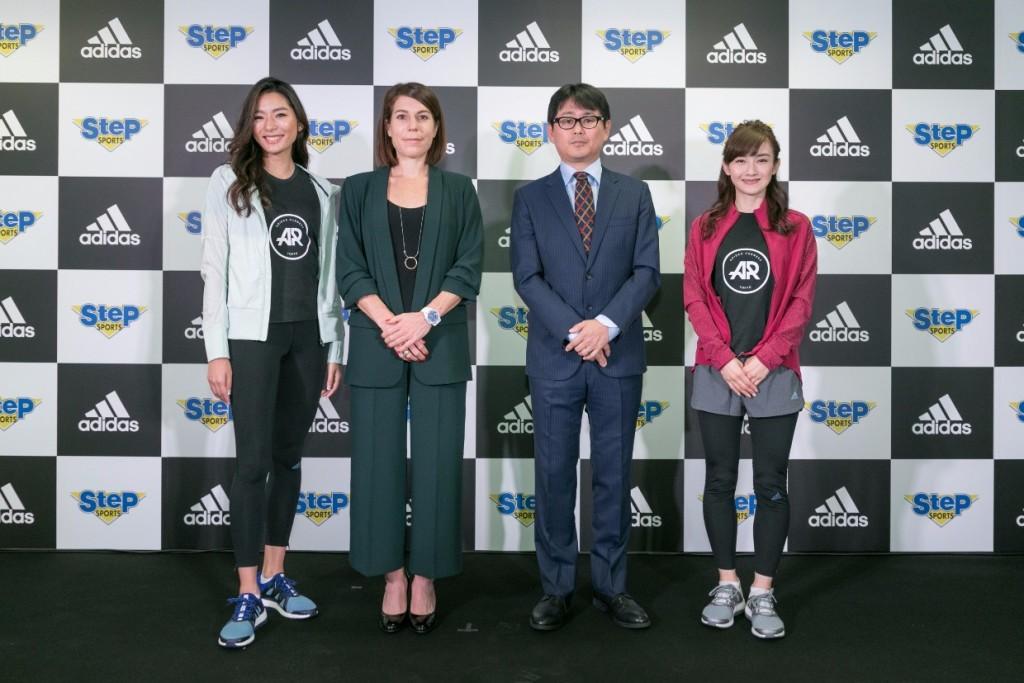 「ステップスポーツ 新宿本店がアディダスフロアを導入し新オープン!プレイベントで「新宿」の新たな魅力を体験。」の画像