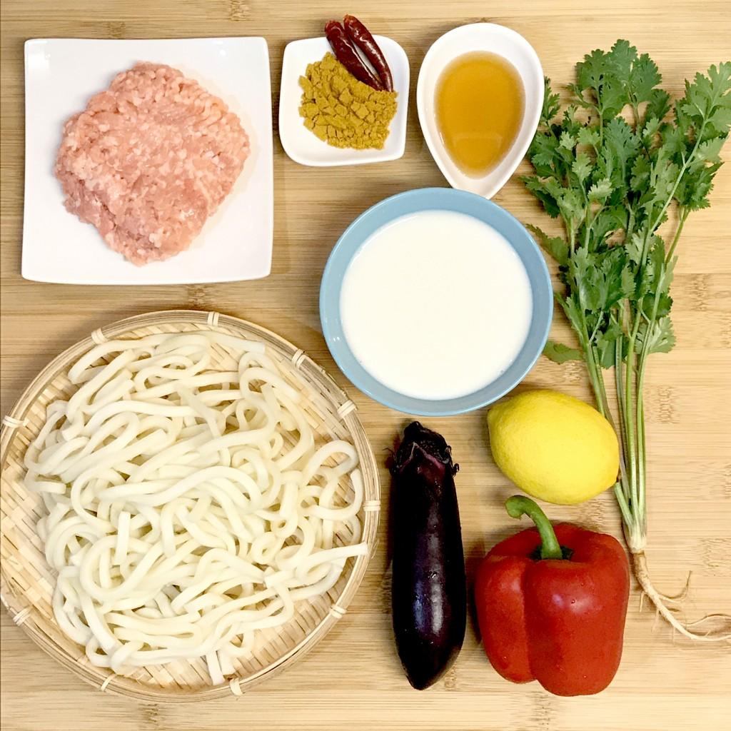 「管理栄養士が考えるランナーメシ! サビないカラダを作る!【アーモンドミルクのカレーうどん】」の画像