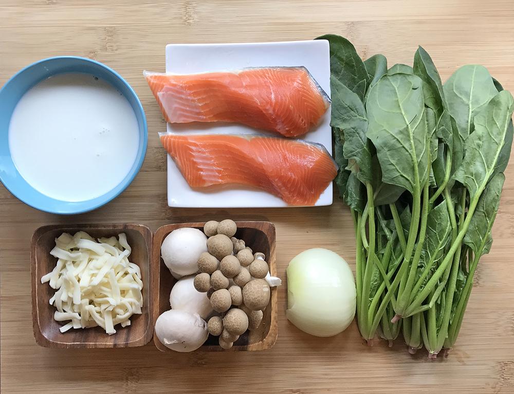 「管理栄養士が考えるランナーメシ!ビタミンDでケガ予防!【鮭とキノコのグラタン】」の画像
