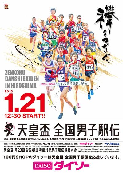「パブリックビューイングを開催 !!天皇盃 第23回全国男子駅伝」の画像