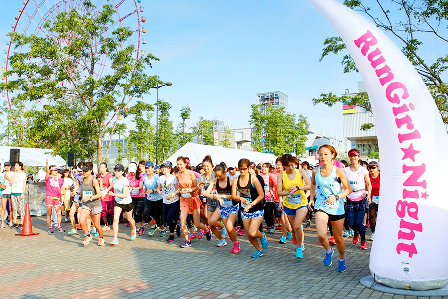「「ランガール★ナイト」がついにファイナル!女子による、女子のためのラン祭りを走ろう!」の画像
