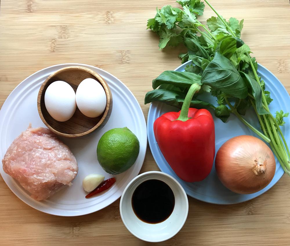 「管理栄養士が考えるランナーメシ!鶏胸肉でカンタン本格タイ料理!【ガパオライス】」の画像