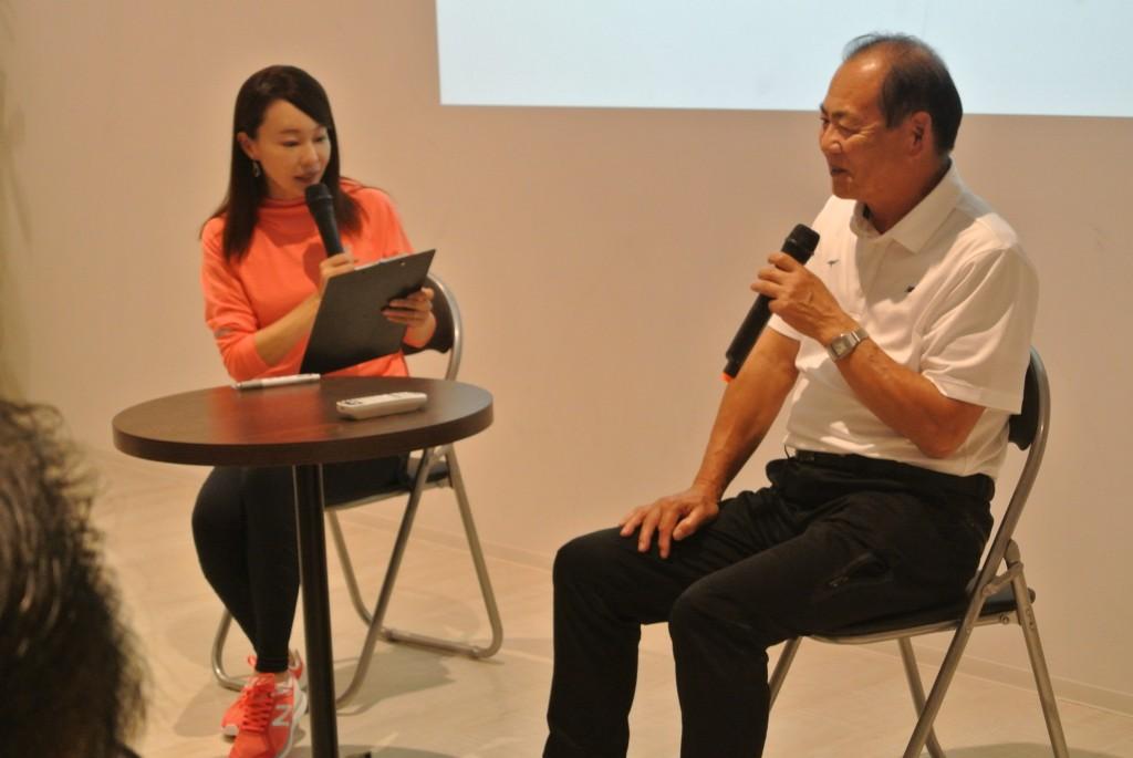 「Qちゃん支えたシューズ職人・三村氏がNew Balanceトークショーで語った厚底論」の画像