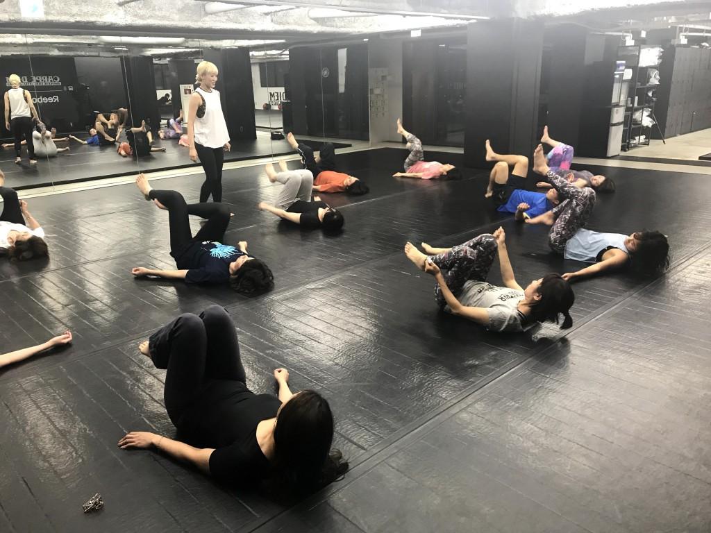 「軸を知り 鍛え ボディをデザインする!! Reebok Fitness Friday参加の金曜日の過ごし方 ひらゆかMEMO」の画像