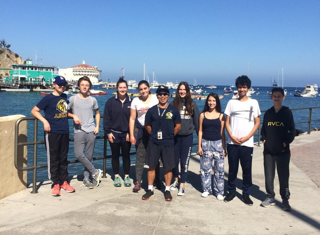 「「ぼくが指導するチームはとても弱い」、高校クロスカントリーチームがカタリナ島へ」の画像