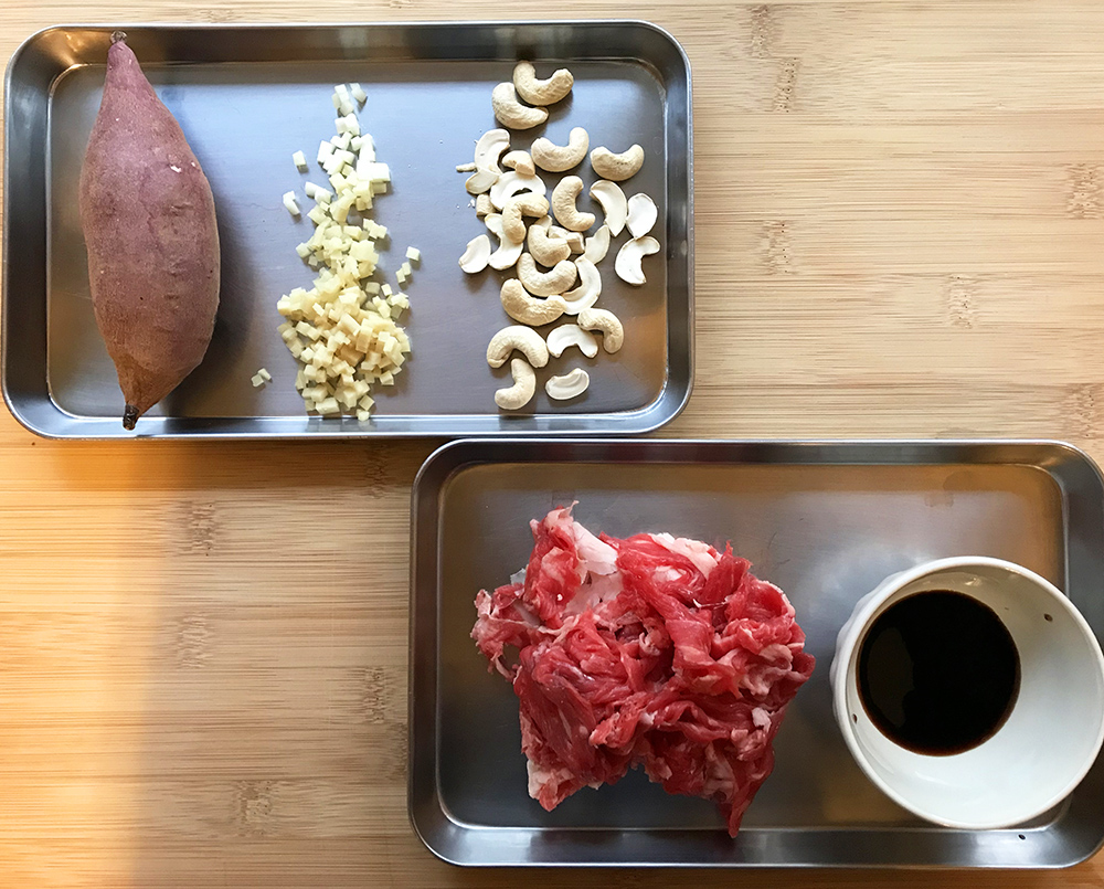 「「ラン前に食べておきたい!」足のつり予防メシ!管理栄養士・麻生のRUNレシピ【さつまいもと牛肉のオイスターソース炒め】」の画像