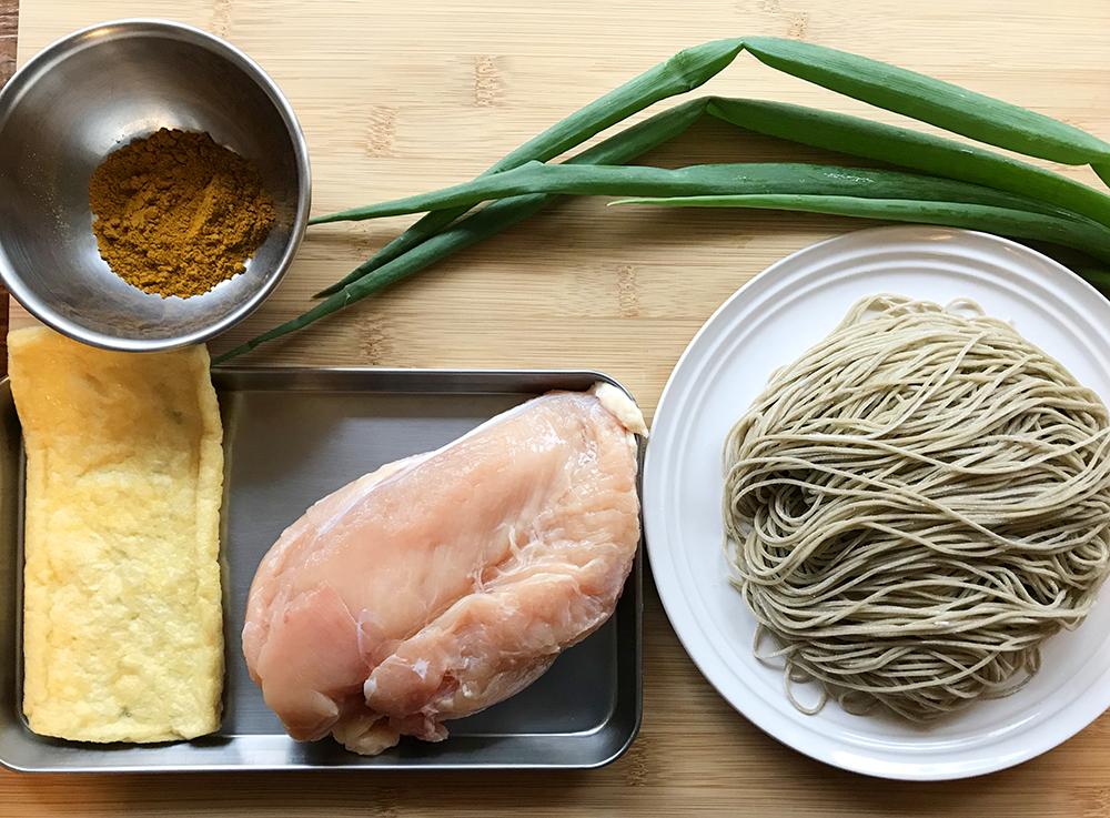 「ラン後の筋肉リカバリーに!! 管理栄養士・麻生のRUNレシピ【そば湯入り!カレー蕎麦】」の画像