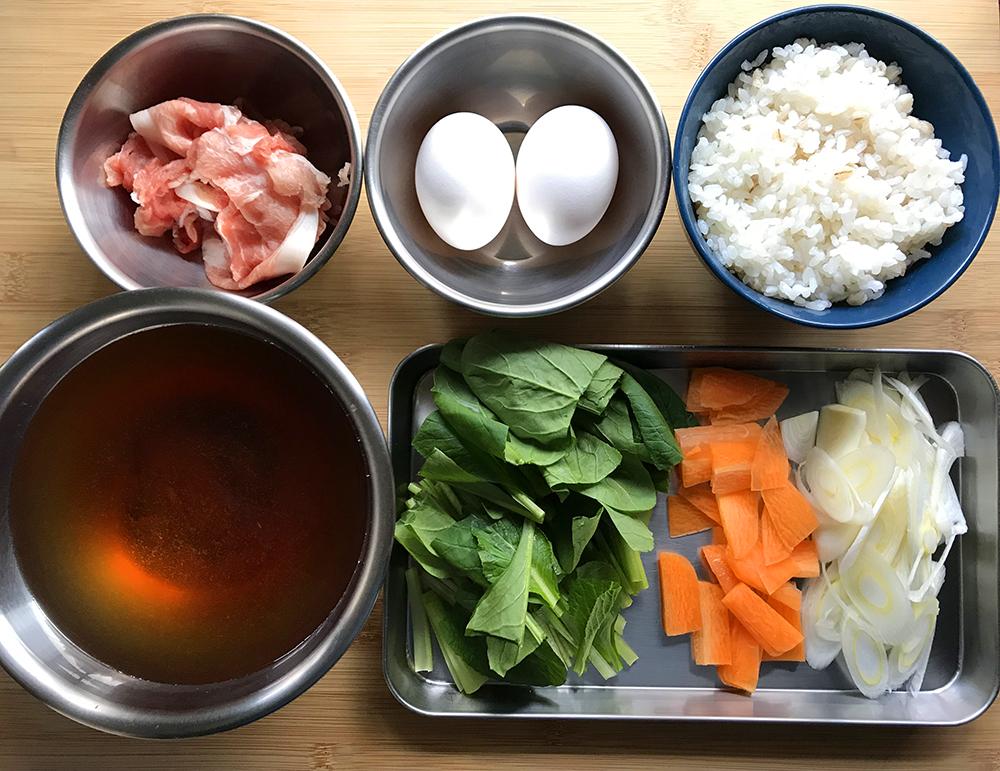 「冬ランのエネルギー補給に!管理栄養士・麻生のRUNレシピ【韓国クッパ】」の画像