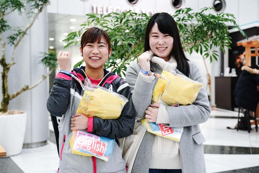 「雨の東京マラソンを支えた1万1000人。ボランティアの想いを学ぶ」の画像