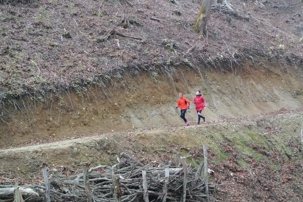 「800mでIH優勝・サホさんが双葉郡川内村をラントリップ体験」の画像