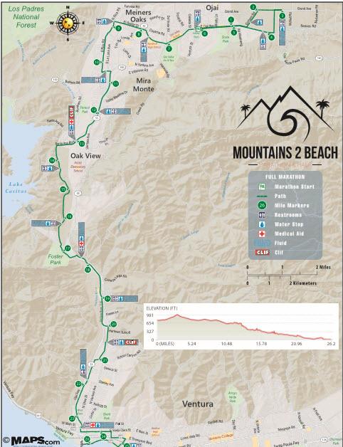 「山から海へ向かって下る、正式なマラソンコースではない「高速マラソン」とは」の画像