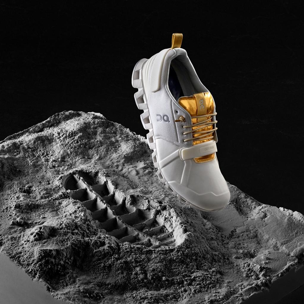 「Onから月面着陸50周年を記念した『クラウドエッジムーン』が全世界999足限定で登場!」の画像