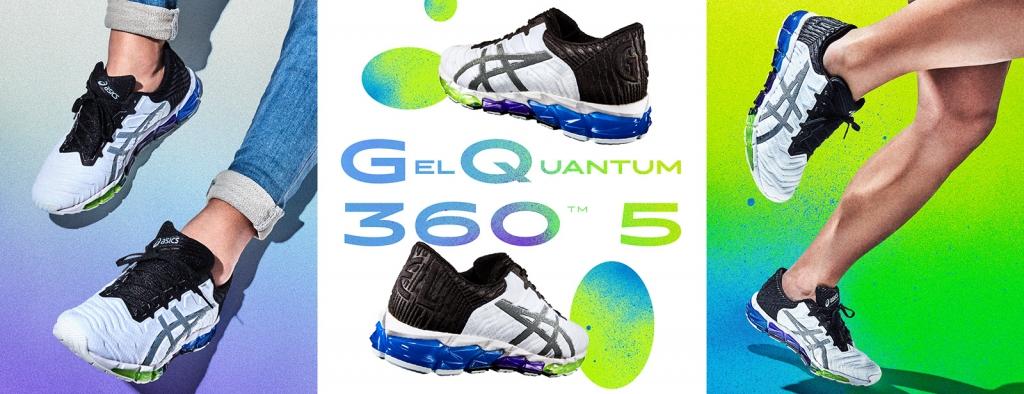「アシックスから足裏全体でGELを感じられるシューズ『GEL-QUANTUM 360 5』が新登場!」の画像