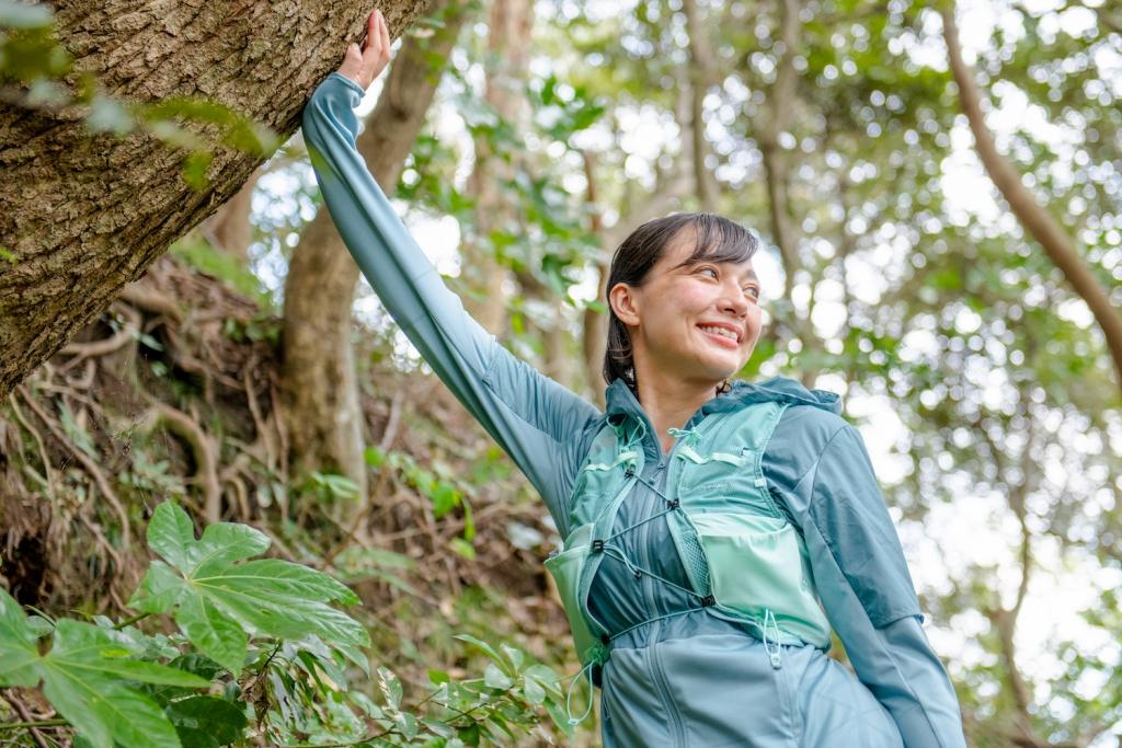 「人生を思いっきり楽しむための相棒は?モデル・芳美リンさんと行く鎌倉キャンプ&湘南ラン」の画像