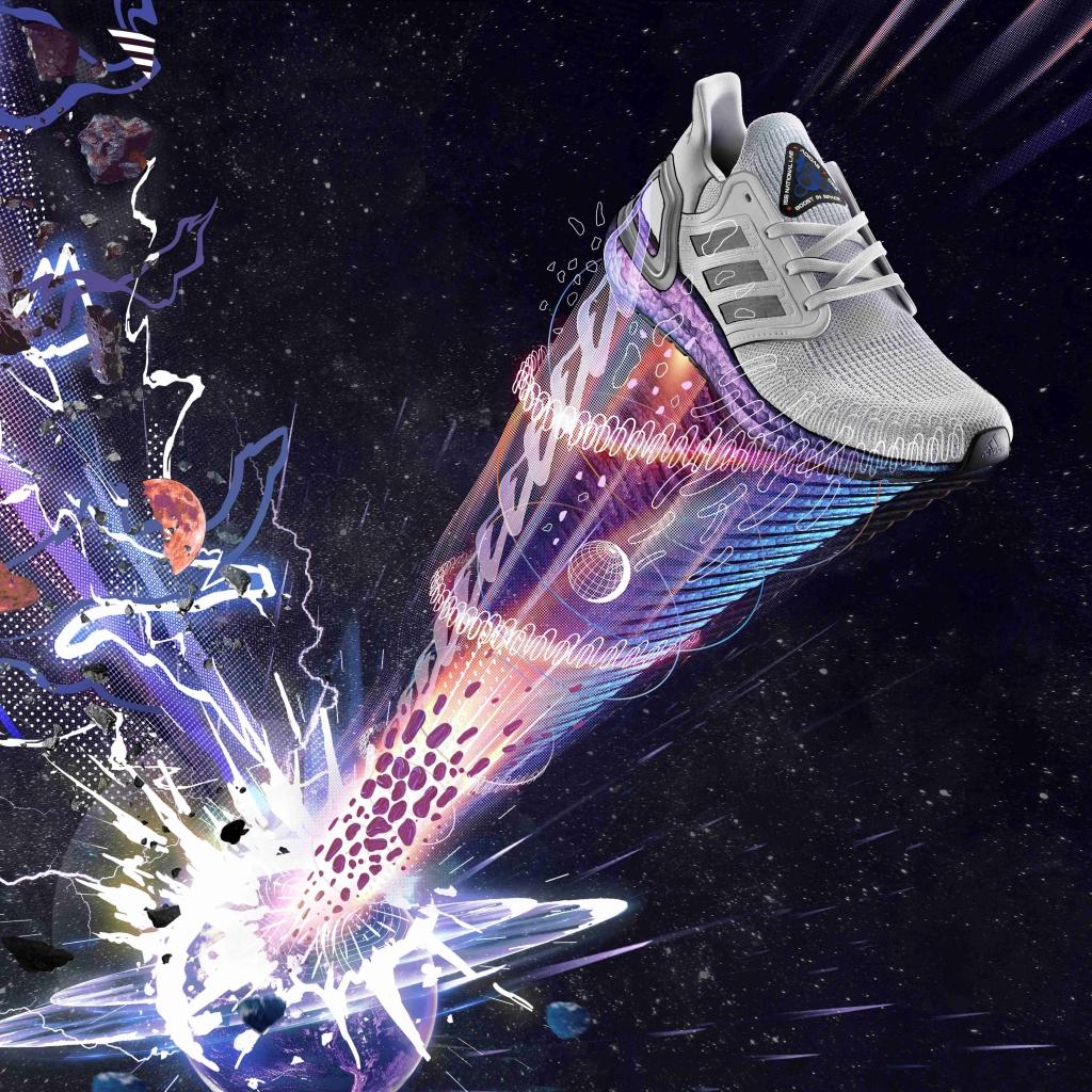「アディダス『ULTRABOOST 20』は宇宙インスパイアモデル。12月6日より発売開始」の画像