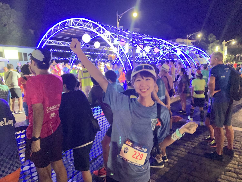 「「レースは早朝、陽気な雰囲気で旅も満喫」グアムマラソンの魅力を旅好き女性ランナーが語る」の画像