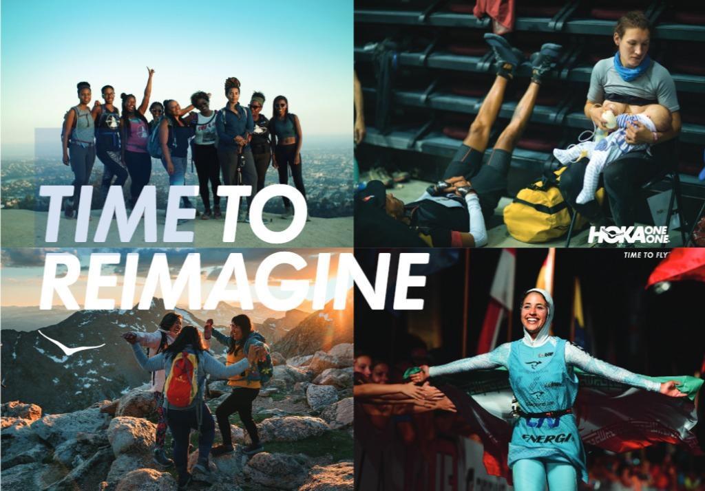 """「HOKA ONE ONEが地球を駆け巡る人々のストーリーを伝える""""Time to""""キャンペーンをスタート!」の画像"""