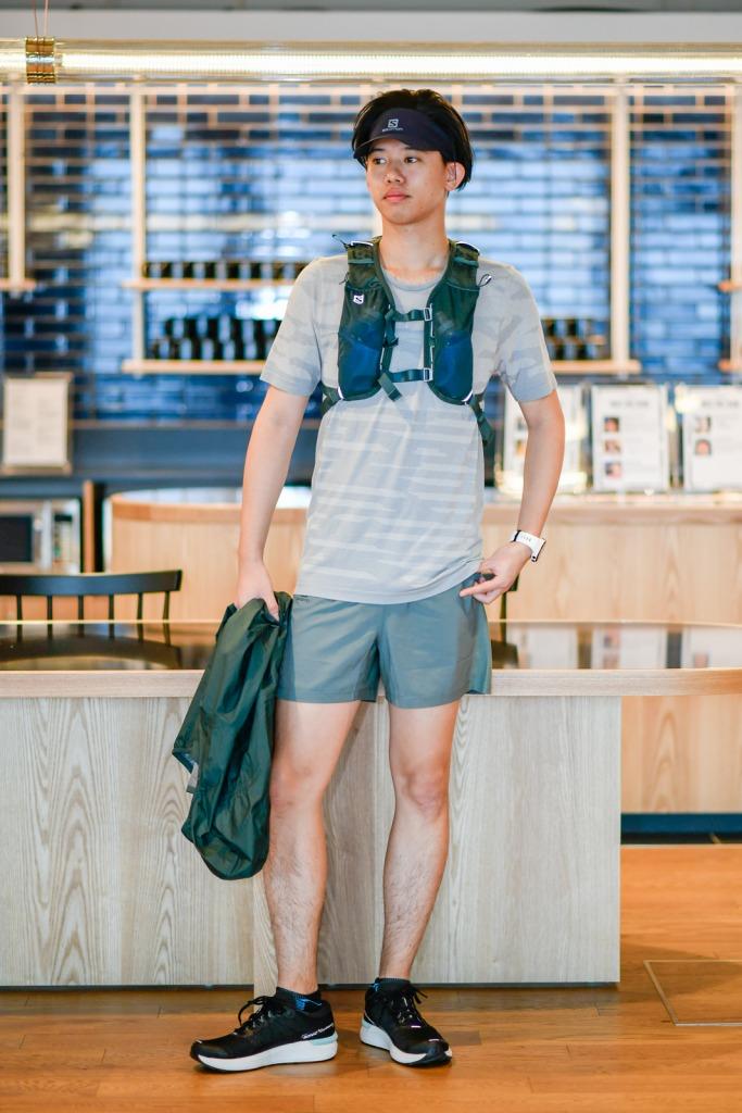「【ランニングウェア】走るスタイリスト工藤満美のオススメ!春のメンズファッションコーデ」の画像