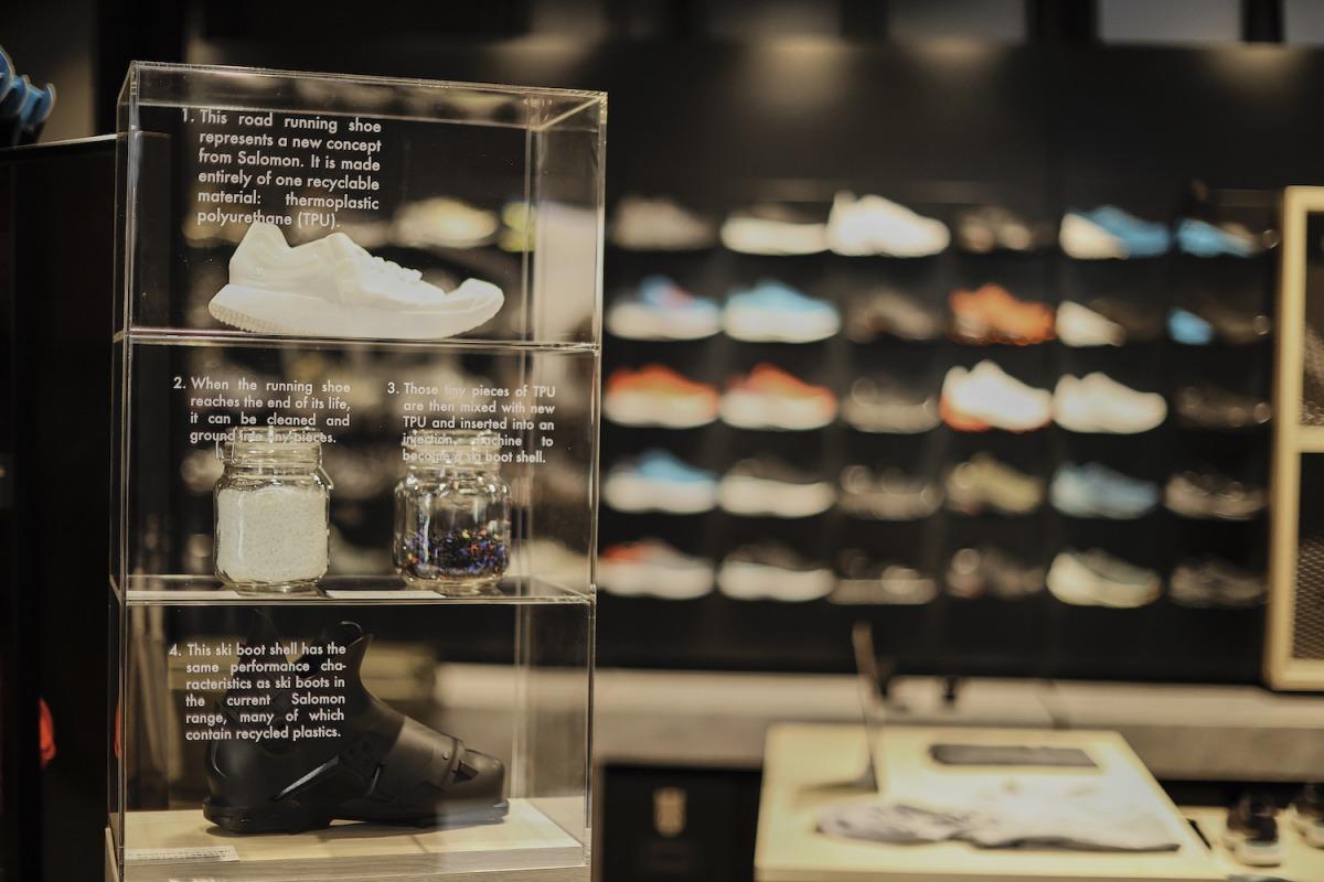 「サロモンが3/20(金)渋谷に新ストアをオープン。歴代シューズのリバイバルコレクションを扱う、世界初の直営店に」の画像