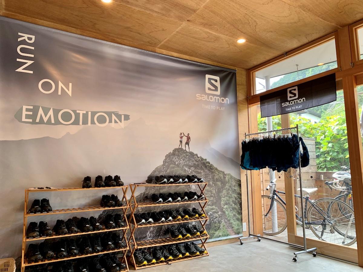 「サロモンのランニングベースが高尾山の麓にある「Mt.BASE CAMP TAKAO」に10月17日(土)オープン」の画像