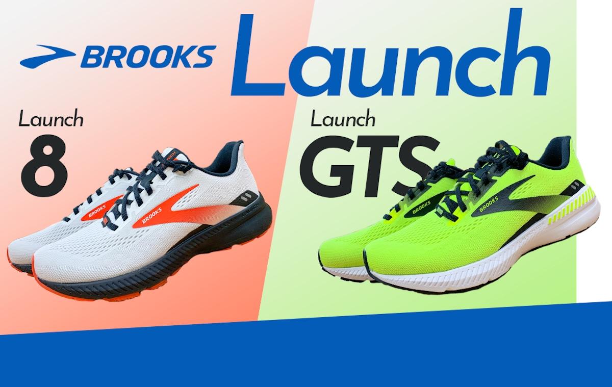 「【ブルックス】テンポアップシューズ『Launch 8』『LaunchGTS 8』をレビュー」の画像