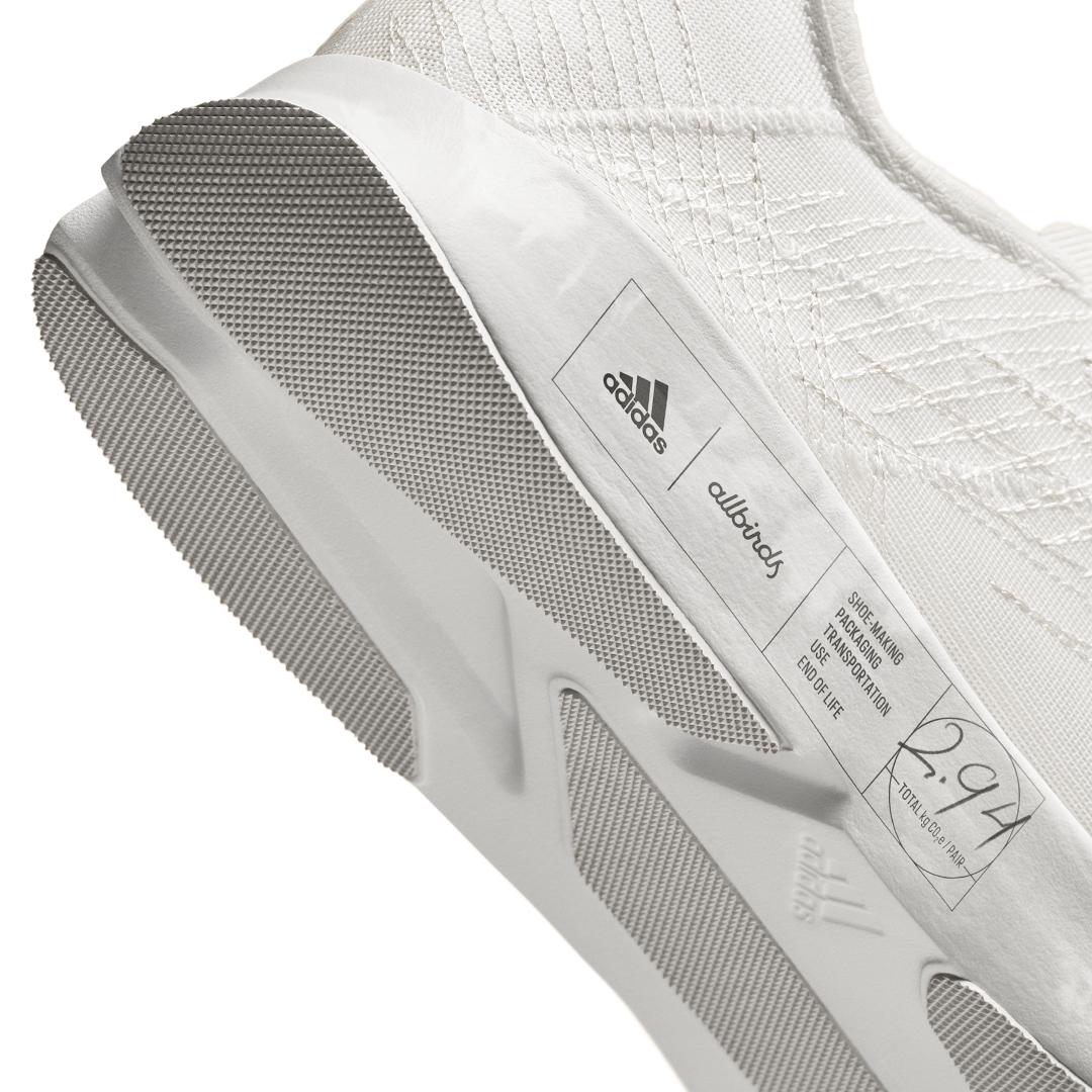 「adidasとallbirdsがコラボしたサスティナブルなシューズ「FUTURECRAFT.FOOTPRINT」が登場!2021年秋冬から一般発売予定」の画像