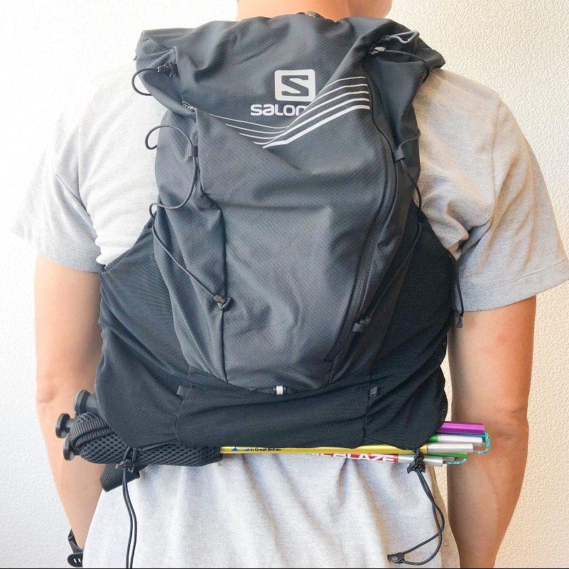 「【ランニングバッグ】トレランにおすすめのサロモン高機能ザックの使い方を詳しく解説」の画像